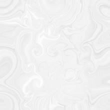 Pattern With White Spirals, Beautiful Wallpapers For Weddings. Texture 3 D Background With Abstract Circles Of Different Sizes, Seamless Pattern With Waves.