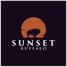 Exotic Sunset Buffalo/Bison Si...
