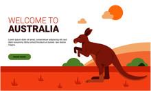Vector Illustration Of Austral...