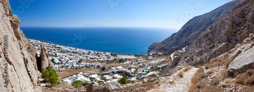 Fototapeta Kamari Panorama, Santorini obraz