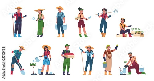Fotografia Agricultural workers