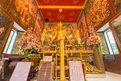 Buddha Statue of Wat Bukkhalo Temple Bangkok, Thailand Canvas Print