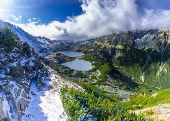 Obraz na Szkle Góry Dolina Pięciu Stawów ze szlaku na Świstówkę, Tatry, Polska