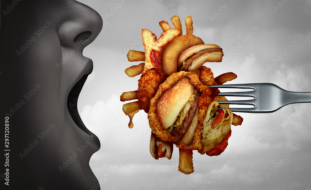 Fototapety, obrazy: Diet And Heart Disease