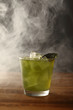 alcohol with mint
