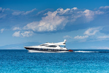 Motoryacht In Greece