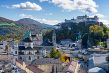 View On Old Town Of Salzburg D...