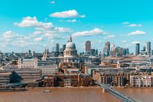 London Skyline And St Paul Cat...