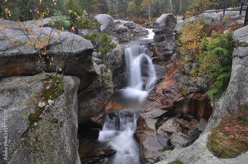 Photo Screw Auger Falls, Bethel, Maine - White Mountain National Forest