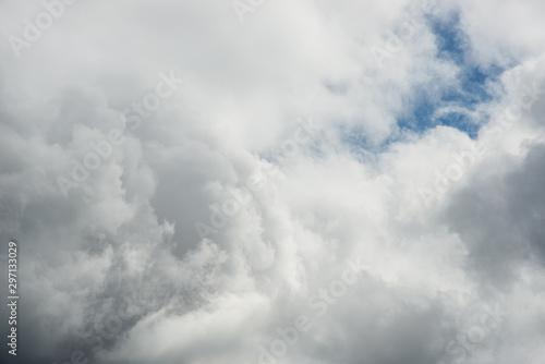 Obraz na plátně  Beautiful white clouds