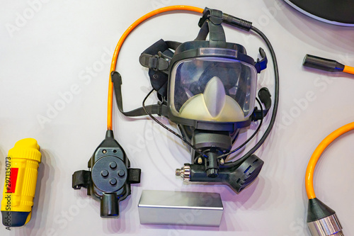 Equipment for industrial diving Canvas-taulu