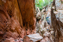 Zion National Park In Utah On ...