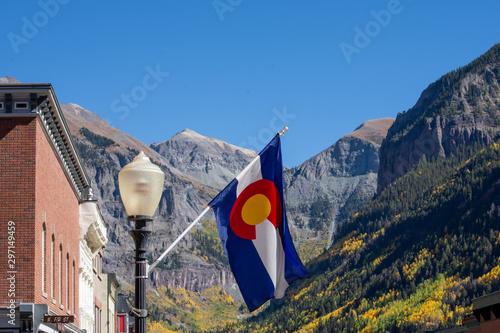 Vászonkép  Colorado Mountains