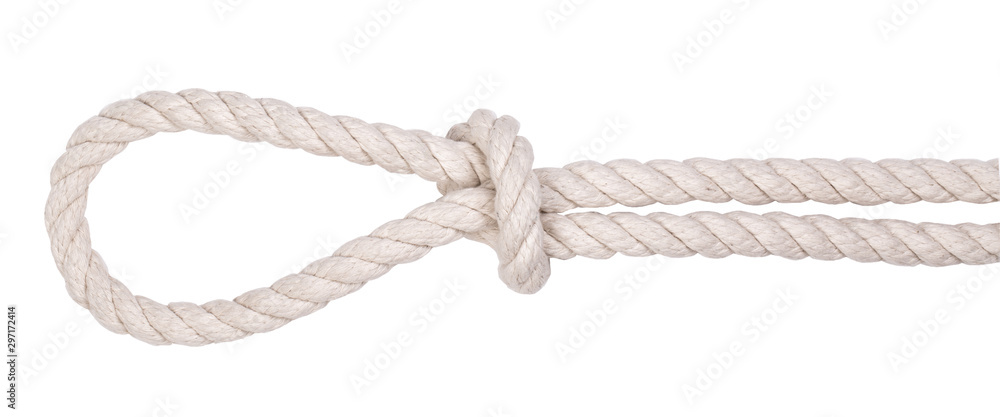 Fototapety, obrazy: Fragment of a nautical rope
