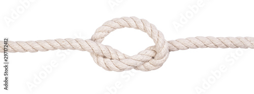Fotografia  Fragment of a nautical rope