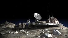 Lunar Base Illustration