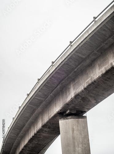 Abstract Highway Overpass Fototapeta