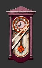 Illustration Of Old Pendulum C...