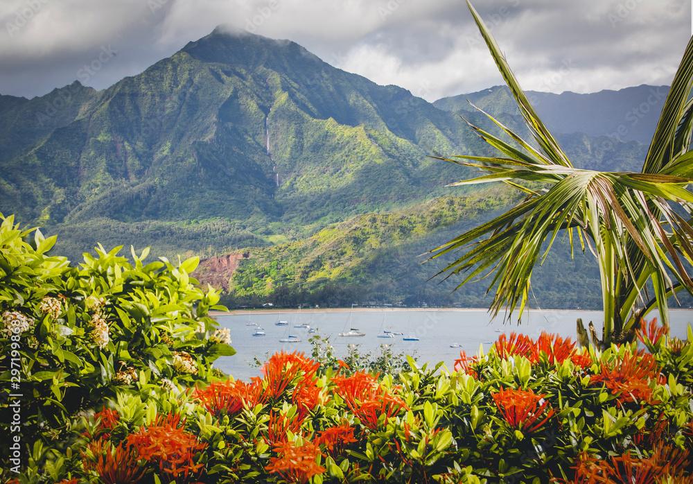 Fototapeta Kauai Hanalei Bay