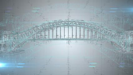 3D architect blueprint calc...