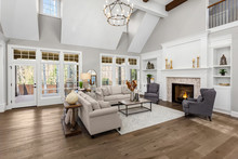 Beautiful Living Room In New T...