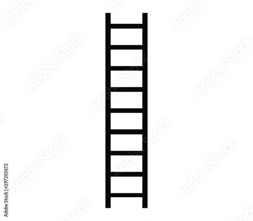 Fotografie, Obraz ladder icon