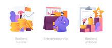 Success Achievement Icons Set....