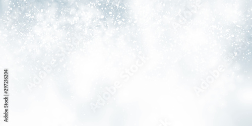 white snow blur abstract background Fototapete
