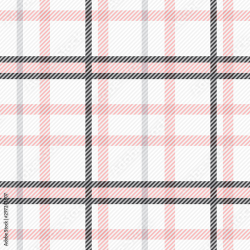 Fototapeten Künstlich Tartan seamless pattern. Checkered texture plaid pattern. Design geometric stripes for background image or clothing fabric prints, home textile, wallpaper, wrapping etc. Vector illustration.