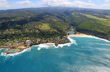 North Shore And Waimea Bay, Oahu, Hawaii