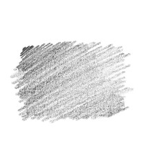 Hand Drawn Pencil Scribble On White Background