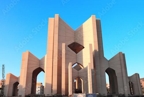 Fotografie, Obraz The Tomb of poets in sunset light,Tabriz, Iran