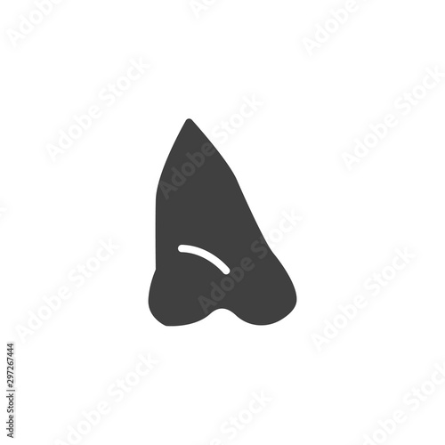 Obraz Human nose vector icon. filled flat sign for mobile concept and web design. Nose glyph icon. Symbol, logo illustration. Vector graphics - fototapety do salonu