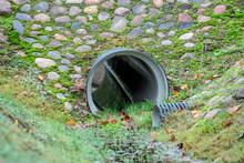 Drainage Pipe. Culvert Under S...