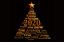 2020 New Year Multilingual Gol...