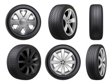 Wheels Realistic. Tyres Road M...