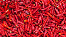 Close Up Group Of Red Hot Chil...