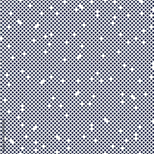 Montage in der Fensternische Künstlich Messy chaotic particles spotted seamless pattern vector abstract background, repeat tiling texture for wallpaper or textile or website.