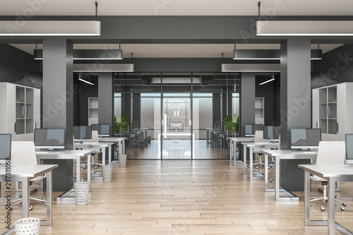 Contemporary coworking office - 297311058