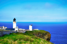 Dunnet Head Lighthouse And The...