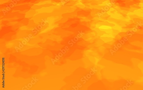Fotografiet  Abstract Fire Background with Flames