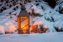 Lantern For Christmas In The S...