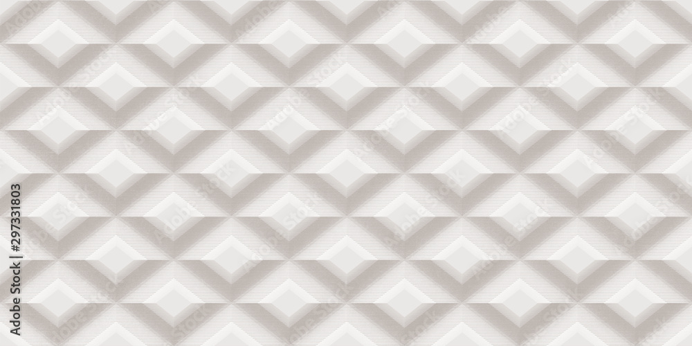 seamless 3d geometric pattern