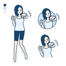 Simple Tank Top Woman_Punch