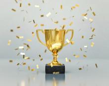 Gold Winners Trophy, Champion ...