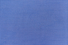 Texture Of Blue Textile Fabric Material With Pattern Background