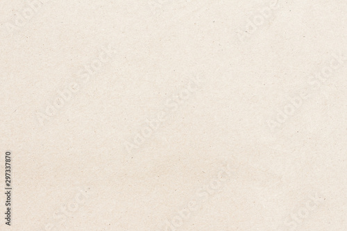 White beige paper background texture light rough textured spotted blank copy spa Wallpaper Mural