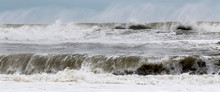 Rough Ocean Waves From Tropica...