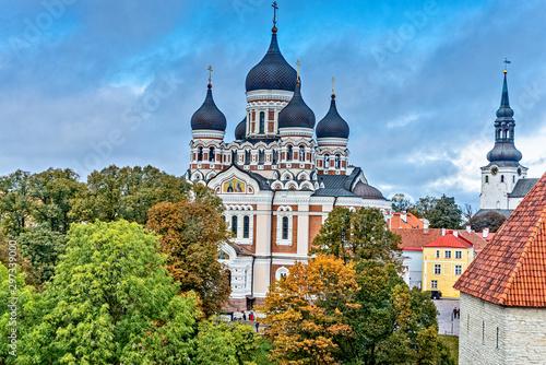Door stickers Eastern Europe Alexander Nevsky Cathedral in Tallinn Estonia
