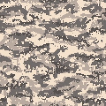 Brown Desert Digital Camouflag...